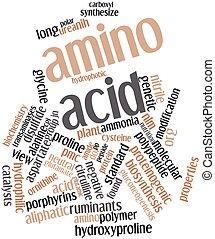 ácido, amino