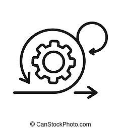 ágil, ilustración, diseño, desarrollo