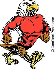 águila, puntal, clásico, neo, 2