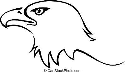 águila, tatuaje