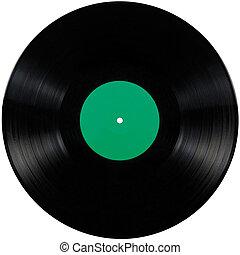 álbum, juego, disc;, aislado, largo, registro, negro, vinilo, elepé, disco