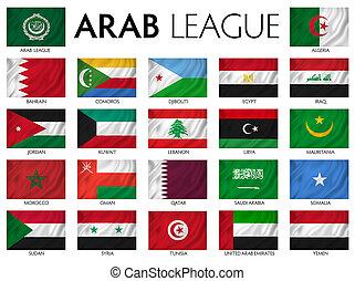 árabe, liga