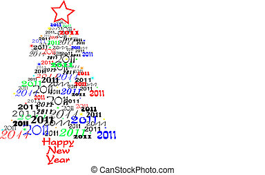 Árbol de Año Nuevo 2011
