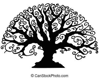 Árbol de decoración