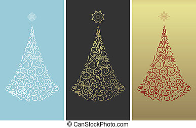 Árbol de diseño navideño