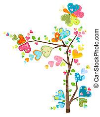 Árbol de flores