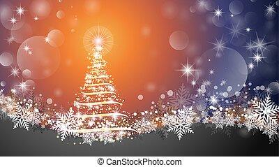 árbol de navidad, 2, destello