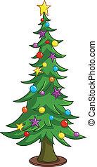 Árbol de Navidad Cartoon