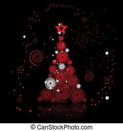 Árbol de Navidad hermoso