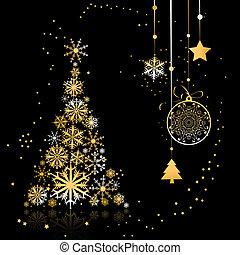 árbol de navidad, hermoso