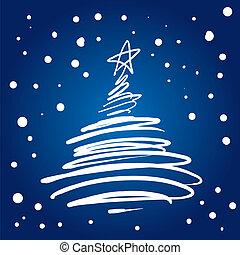 Árbol de Navidad (vector)