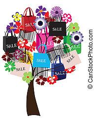 Árbol de venta