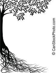 Árbol silueta