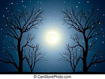 Árboles de luna