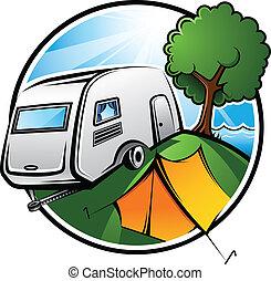 Área de campamento