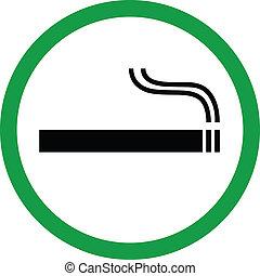 Área de fumar
