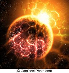 Átomos y fotones