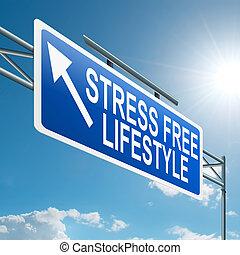 énfasis, lifestyle., libre
