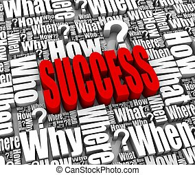 éxito, estrategia