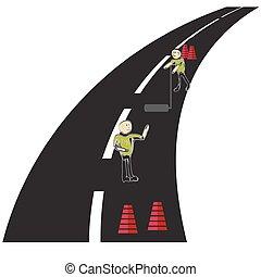 Ícono de carretera