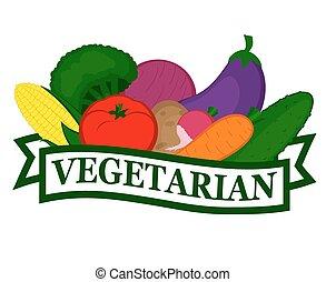 Ícono de comida vegetariana