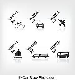 Ícono de transporte