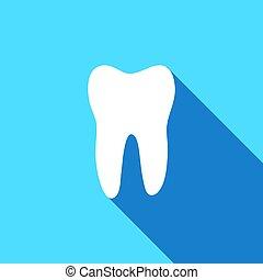 Ícono vector de dientes