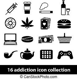 Íconos de adicción