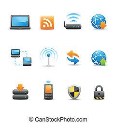íconos Web e Internet