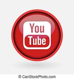 -, colección, popular, logotipo, impreso, marzo, blanco, medios, paper:, 2, pavo, 2019:, estambul, youtube., social