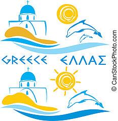 -, mar egeo, grecia