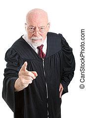 -, popa, juez, regaño