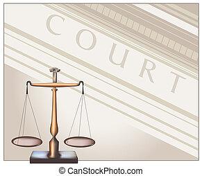 -, tribunal, escalas