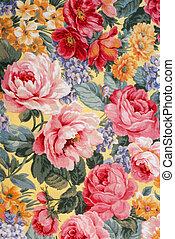 01, tela, floral