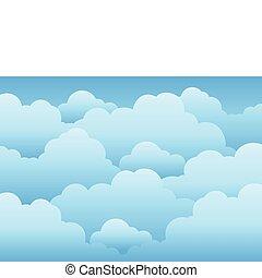 1, cielo, nublado, plano de fondo
