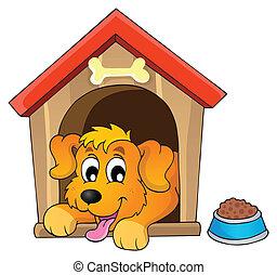 1, imagen, tema, perro