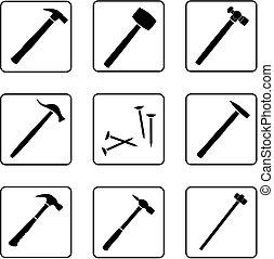 1, martillos