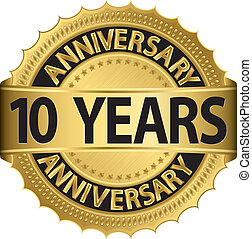 10 años de etiqueta dorada