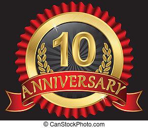 10 años de oro