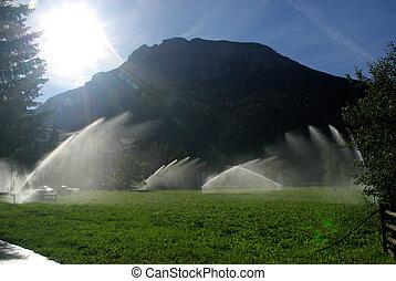 10, sistema de irrigación