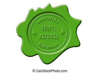 100% de cera natural