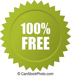100 icono vector libre