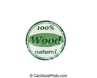 100% madera