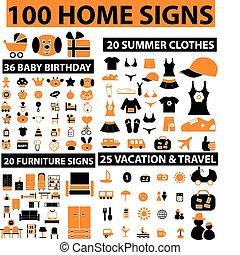 100 señales de casa