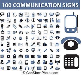 100 señales de comunicación