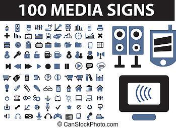 100 señales de prensa
