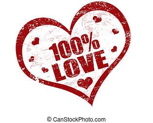 100% sello de amor
