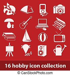 16 colección de iconos