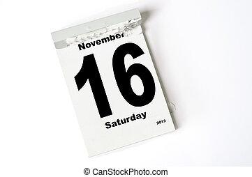 16. Noviembre de 2013