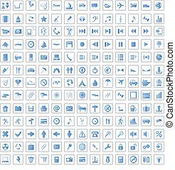 170 iconos preparados